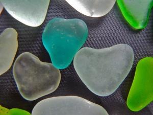 Rare aqua heart $31