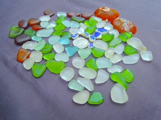 Sea Glass & Pottery, $28 6/15