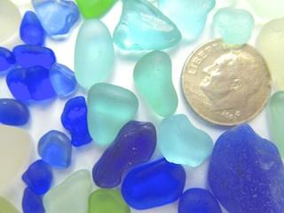 Cobalt & Aqua 8/5 $24