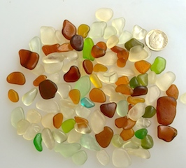 Rare GOLD sea glass! $34 4/20