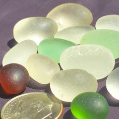 Sea Glass EGGS!